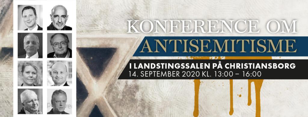 Se eller gense konferencen om antisemitisme på Christiansborg